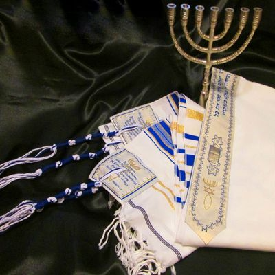 TALLIT: Prayer Shawl - Grafted In, B'rit Chadashah