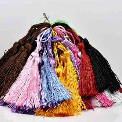 Silky TASSELS (set of 4)